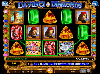 Da Vinci Diamonds: Dual Play 1