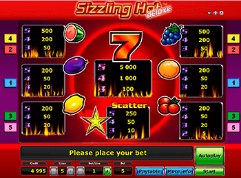 Sizzling Hot Deluxe 4